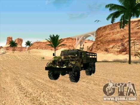 ZIL 131 Shaitan Arba for GTA San Andreas left view
