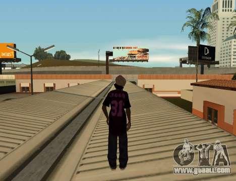 Cleo Slap for GTA San Andreas