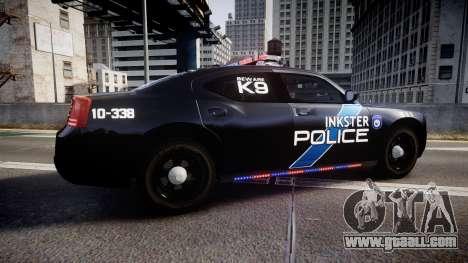Dodge Charger 2010 Police K9 [ELS] for GTA 4 left view