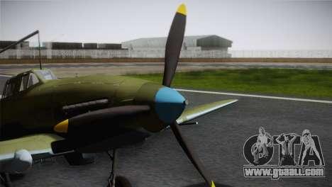 ИЛ-10 Korean Air Force for GTA San Andreas right view