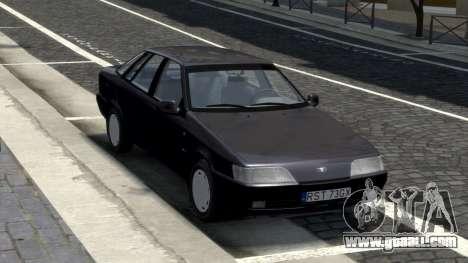 Daewoo Espero 1.5 GLX 1996 for GTA 4 back view