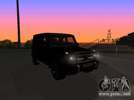 Mercedes-Benz G63 AMG for GTA San Andreas side view