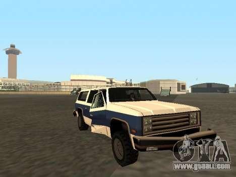 Rancher Four Door for GTA San Andreas
