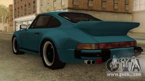 Porsche 911 Turbo 3.3L Coupe (930) 1981 for GTA San Andreas left view