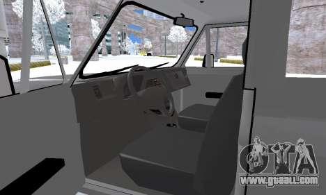 Aro 242 for GTA San Andreas bottom view