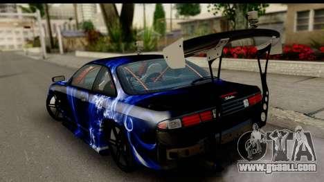 Nissan Silvia S14 Kouki Skin for GTA San Andreas left view
