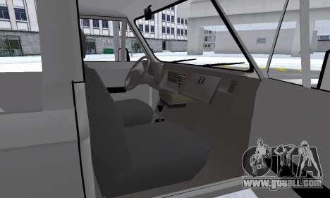 Aro 242 for GTA San Andreas interior