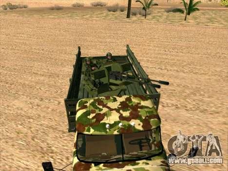 ZIL 131 Shaitan Arba for GTA San Andreas right view
