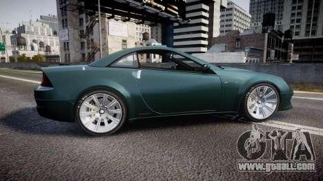 Benefactor Feltzer V8 Sport for GTA 4 left view