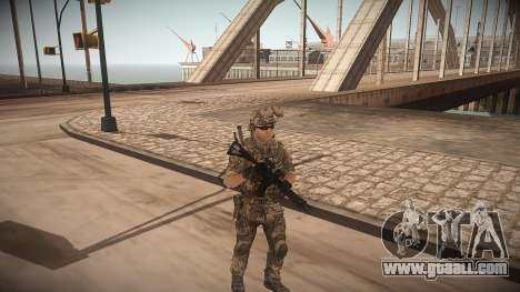 Animation of CoD MW3 for GTA San Andreas