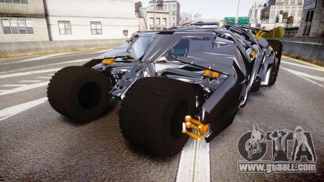 Batman tumbler [EPM] for GTA 4