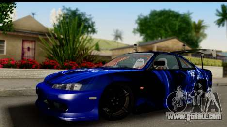 Nissan Silvia S14 Kouki Skin for GTA San Andreas