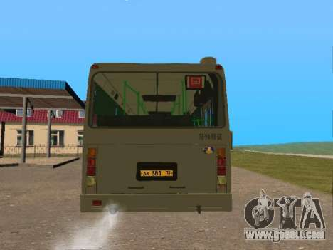 LiAZ 5256 for GTA San Andreas back left view