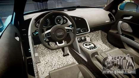 Audi R8 Tron Legacy [EPM] for GTA 4 back view