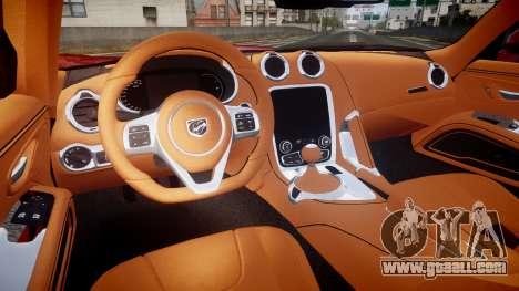 Dodge Viper SRT 2013 rims1 for GTA 4 back view