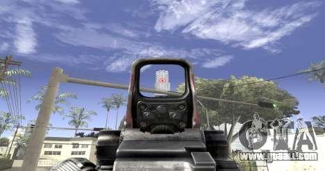 Sniper scope mod for GTA San Andreas third screenshot