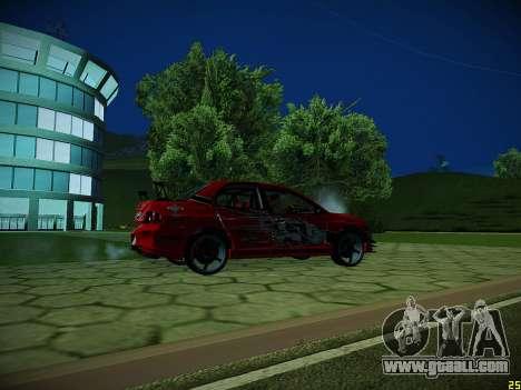 Mitsubishi Lancer Tokyo Drift for GTA San Andreas interior