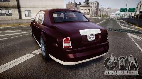 Rolls-Royce Phantom EWB v3.0 for GTA 4 back left view