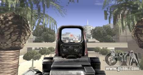 Sniper scope mod for GTA San Andreas forth screenshot