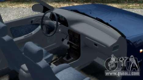 Daewoo Espero 1.5 GLX 1996 for GTA 4 inner view