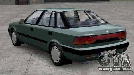 Daewoo Espero 1.5 GLX 1996 for GTA 4 left view