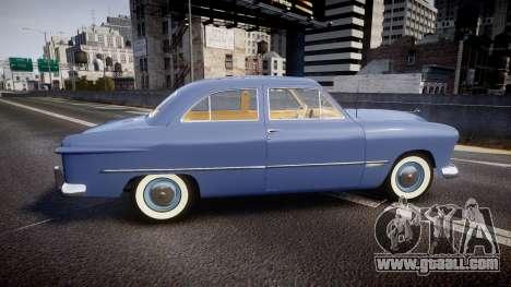 Ford Custom Tudor 1949 v2.1 for GTA 4 left view