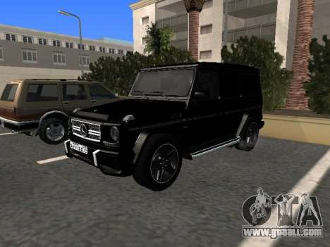 Mercedes-Benz G63 AMG for GTA San Andreas