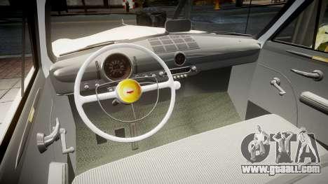 Ford Custom Tudor 1949 v2.1 for GTA 4 inner view