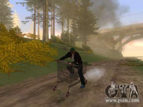 Shopping Cart for GTA San Andreas