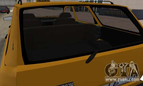Renault 12 SW Taxi for GTA San Andreas