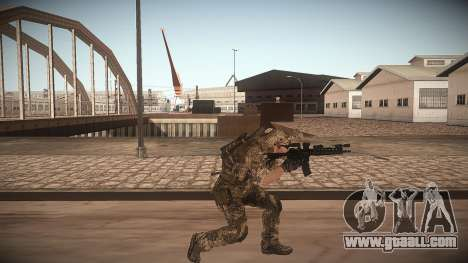 Animation of CoD MW3 for GTA San Andreas third screenshot