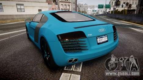 Audi R8 Tron Legacy [EPM] for GTA 4 back left view
