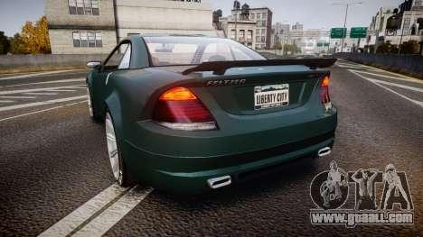Benefactor Feltzer V8 Sport for GTA 4 back left view