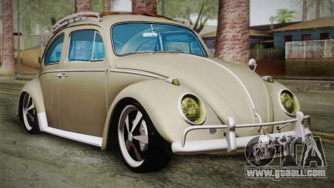 Volkswagen Fusca 1974 for GTA San Andreas