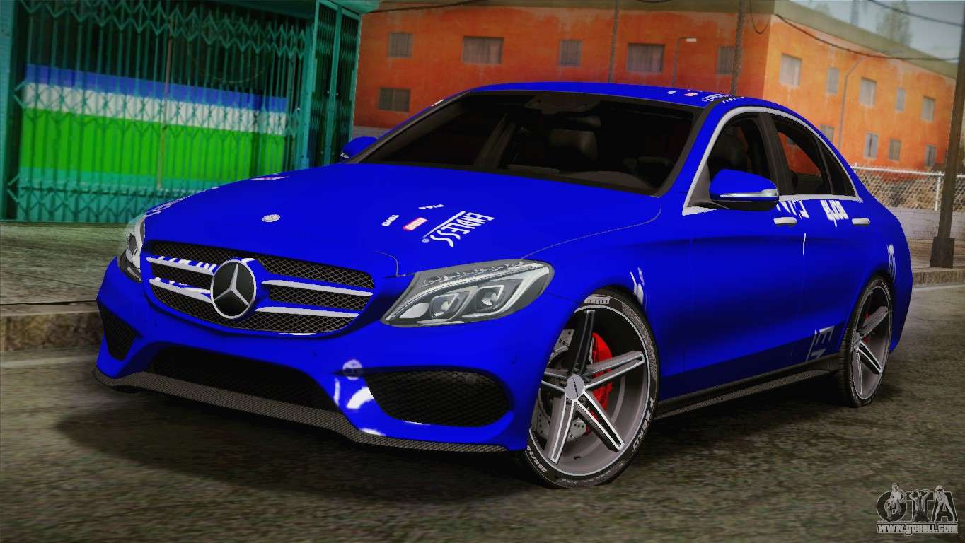 Mercedes benz c250 amg edition 2014 sa plate for gta san for Mercedes benz c250