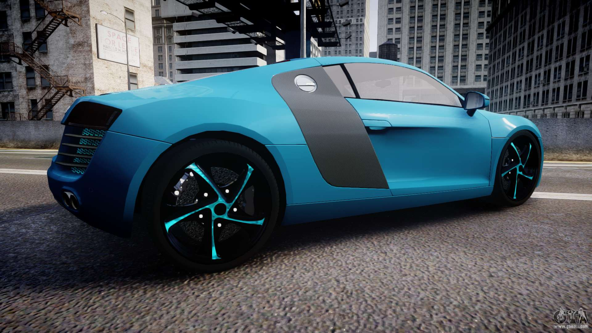 audi r8 tron legacy epm for gta 4. Black Bedroom Furniture Sets. Home Design Ideas
