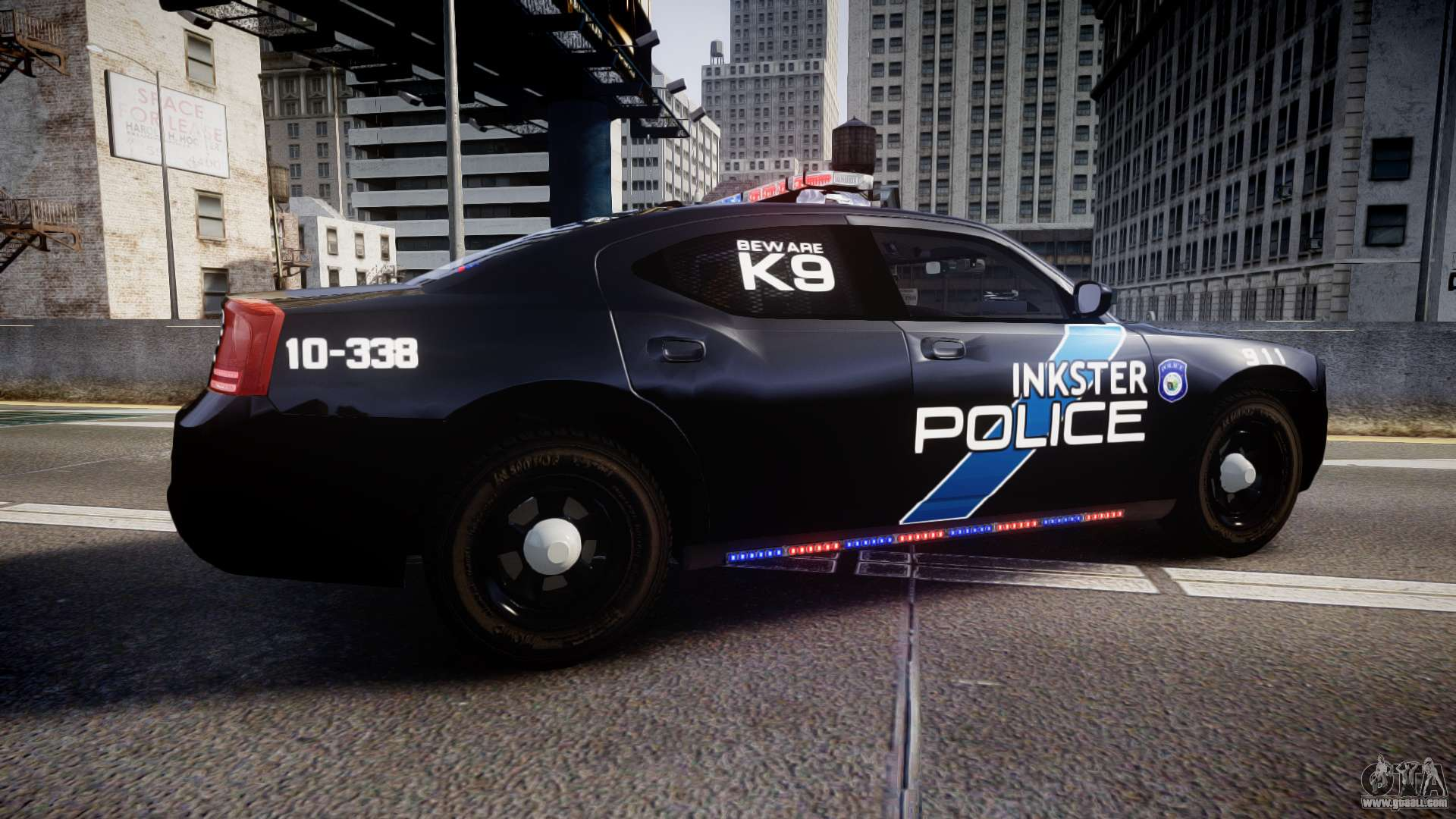 dodge charger  police  els  gta