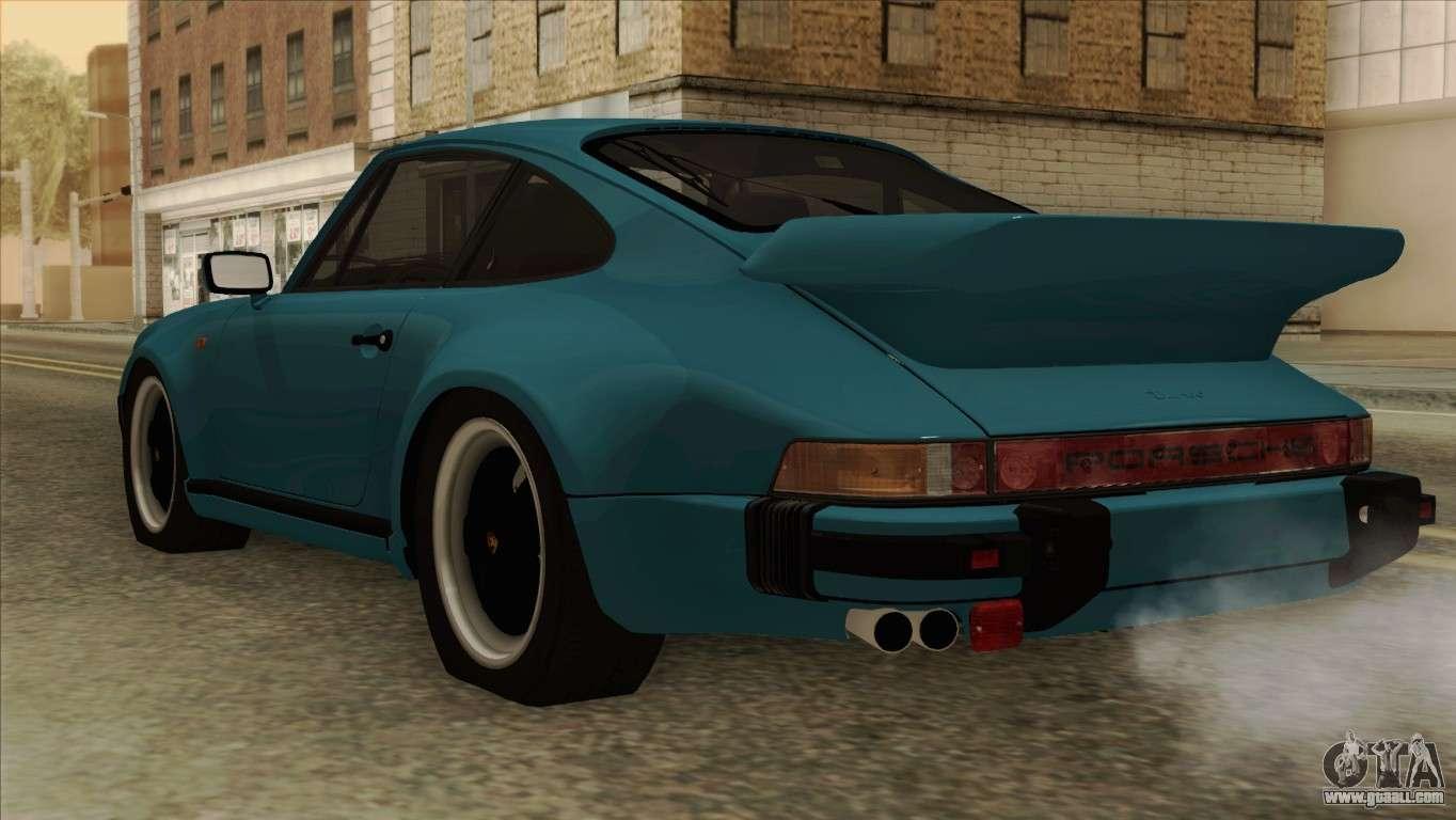 Porsche 911 turbo 33l coupe 930 1981 for gta san andreas porsche 911 turbo 33l coupe 930 1981 for gta san andreas left view vanachro Gallery
