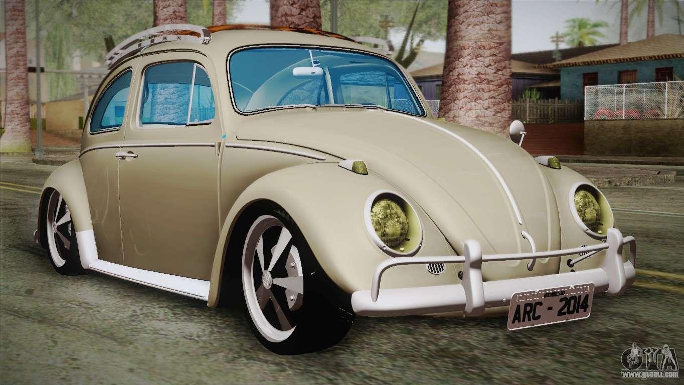 Volkswagen Fusca 1974 for GTA San Andreas