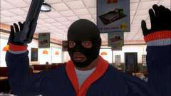 Franklin (the Robber) from GTA 5 for GTA San Andreas