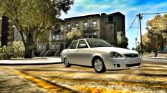 Lada 2170 Stock for GTA 4