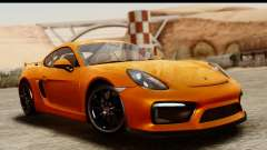 Porsche Cayman GT4 981c 2016 купе for GTA San Andreas