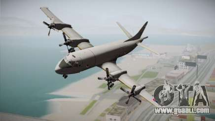 Lockheed P-3 Orion MLD New for GTA San Andreas