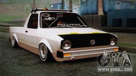 Volkswagen Caddy DRY Garage for GTA San Andreas