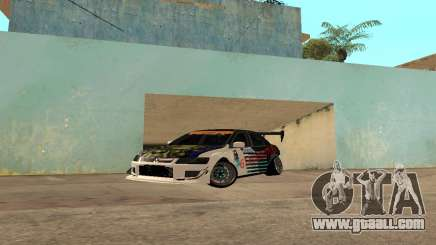 Mitsubishi Lancer Evo 9 VCDT V2 for GTA San Andreas