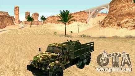 ZIL 131 Shaitan Arba for GTA San Andreas