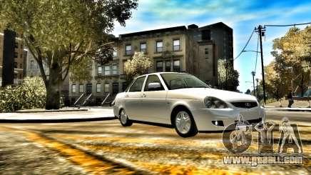 Lada 2170 Stock for GTA 4