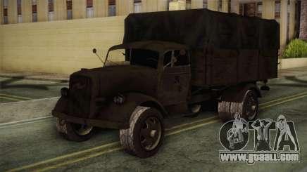 Opel Blitz (CoD: World at War) for GTA San Andreas