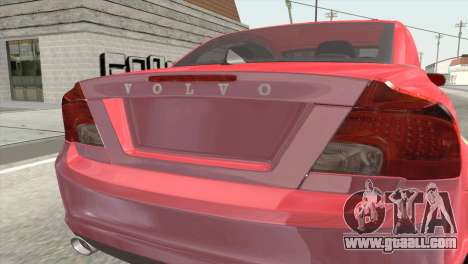 Volvo C70 2011 Stock for GTA San Andreas back view