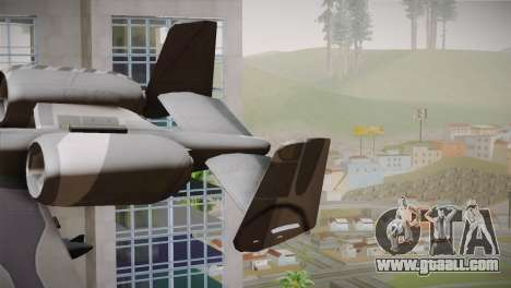 A-10A The Idolmaster -SP- for GTA San Andreas